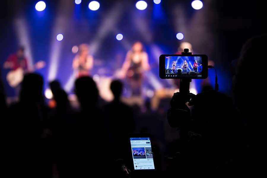 Solution de partage d'événements en direct sur les réseaux sociaux - La Social Room