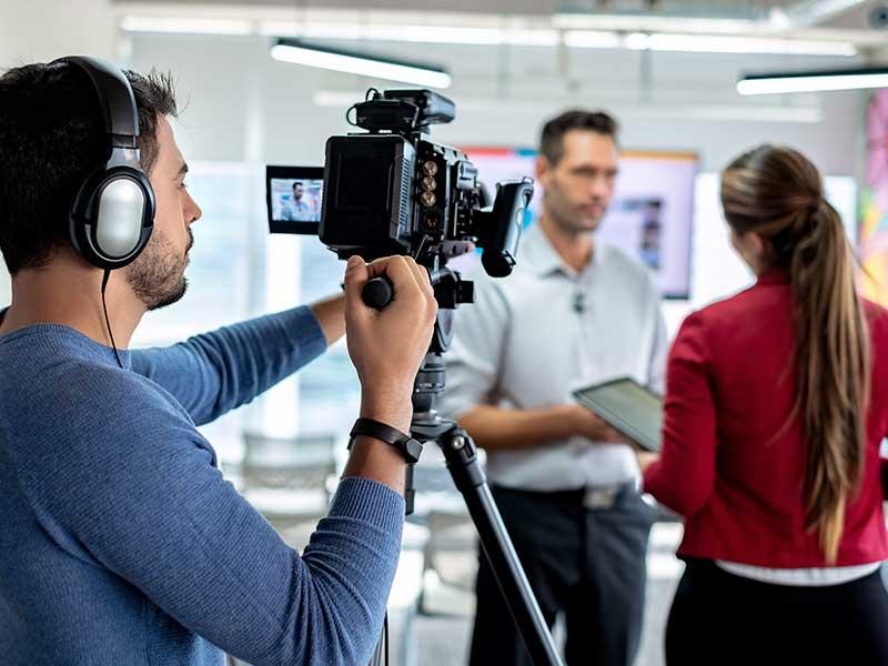Production de contenu pour les réseaux sociaux - La Social Room