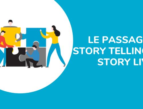 Le passage du story telling au story living